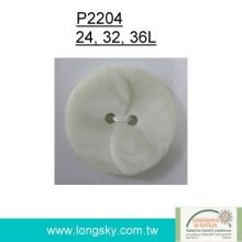 Popular Polyester Resin Button (#P2204)