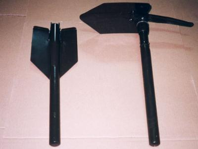 Shovel w/ pick