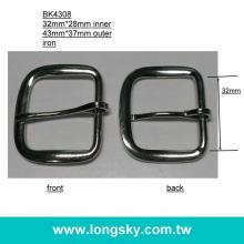 metal prong buckle for strap and belt (#BK4308/32mm)