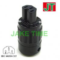 Audio Grade IEC 60320 C15 Power Connector
