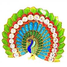 metal brooch | enamel pins | cloisonne peacock brooch