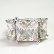 Princess Cut CZ Bridal Jewelry Ring