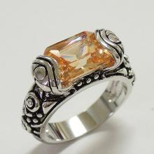 Champagne CZ Fashion Ring