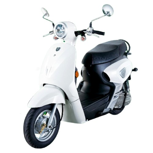 More Efficiency and High Performancw Electric Scooter(White) t